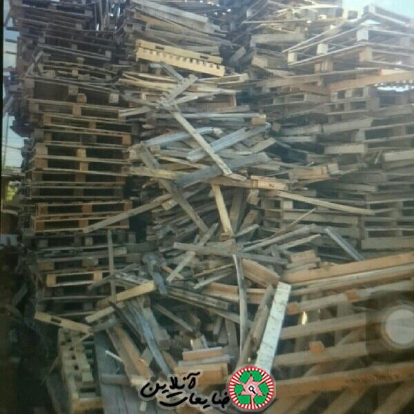 خریدار چوب وپالت