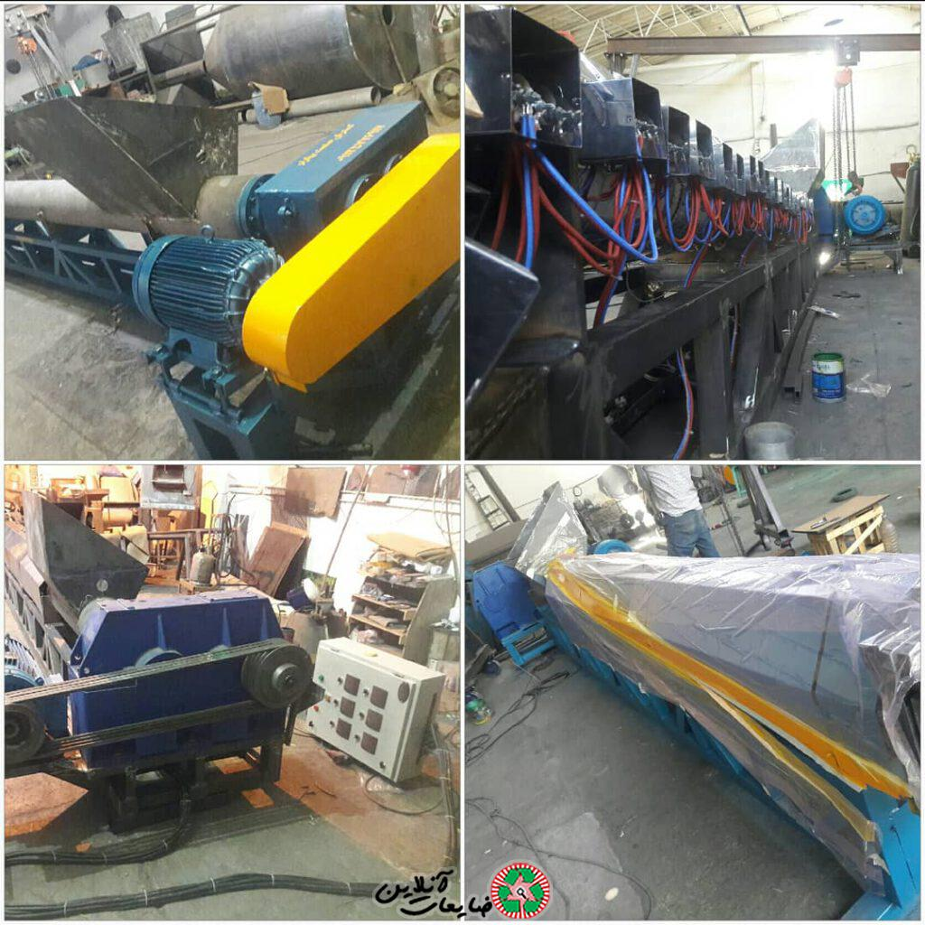 گسترش صنعت بهارلو   طراحی و ساخت ماشین الات بازیافت و تولید کننده مواد پلیمری صنعتی پروپیلن