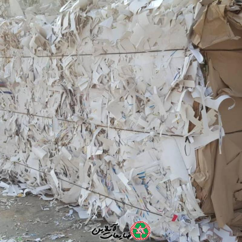 خریدار انواع کاغذ باطله، ضایعات کاغذ و مقوا